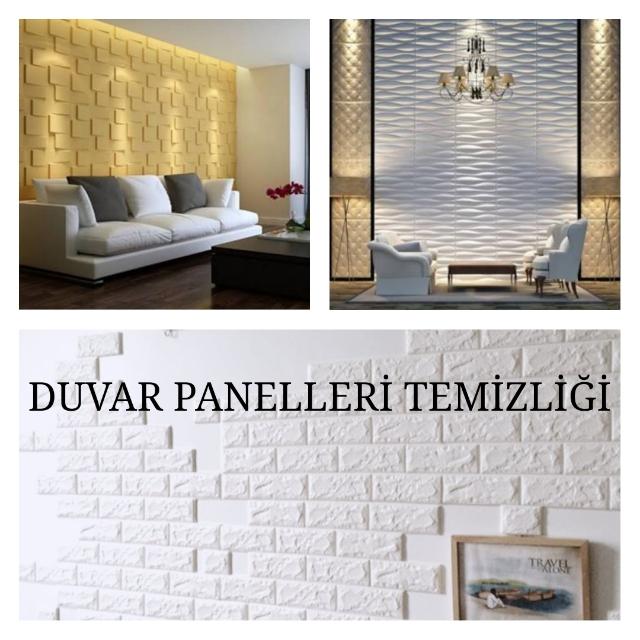 Duvar Panellerinin Temizliği Sihir Gibi Öneriler