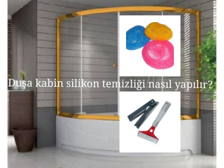 Duşa Kabin Silikon Temizliği Nasıl Yapılır?